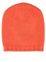 Шапка Lamberto Losani A153280 100% кашемир Оранжевый Италия изображение 0