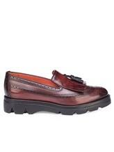 Ботинки Santoni WUUD57569 100% кожа Бордовый Италия изображение 1