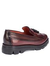 Ботинки Santoni WUUD57569 100% кожа Бордовый Италия изображение 3