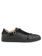 Кроссовки Santoni MBGU14716 100% кожа Черный Италия изображение 1