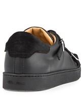 Кроссовки Santoni MBGU14716 100% кожа Черный Италия изображение 3