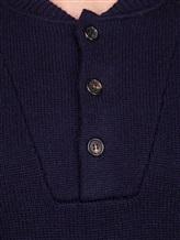 Поло Brunello Cucinelli 56914 100%кашемир Темно-синий Италия изображение 4