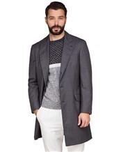Пальто Brunello Cucinelli 6350 100% шерсть Серый Италия изображение 0