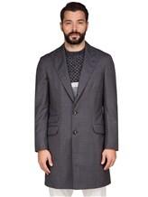 Пальто Brunello Cucinelli 6350 100% шерсть Серый Италия изображение 2