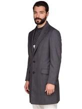 Пальто Brunello Cucinelli 6350 100% шерсть Серый Италия изображение 3