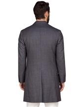Пальто Brunello Cucinelli 6350 100% шерсть Серый Италия изображение 4