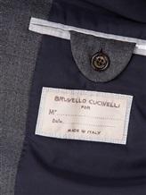 Пальто Brunello Cucinelli 6350 100% шерсть Серый Италия изображение 6