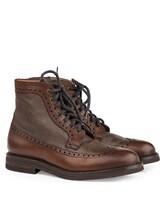 Ботинки Brunello Cucinelli 982 100% кожа Коричневый Италия изображение 0