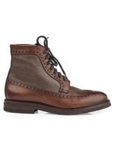 Ботинки Brunello Cucinelli 982 100% кожа Коричневый Италия изображение 1