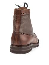 Ботинки Brunello Cucinelli 982 100% кожа Коричневый Италия изображение 3