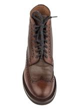 Ботинки Brunello Cucinelli 982 100% кожа Коричневый Италия изображение 4