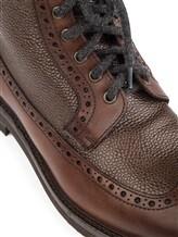 Ботинки Brunello Cucinelli 982 100% кожа Коричневый Италия изображение 5
