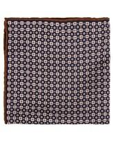Платок Brunello Cucinelli 0091 51% шёлк, 49% хлопок Темно-синий Италия изображение 0