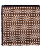 Платок Brunello Cucinelli 0091 51% шёлк, 49% хлопок Коричневый Италия изображение 0