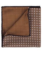 Платок Brunello Cucinelli 0091 51% шёлк, 49% хлопок Коричневый Италия изображение 1