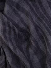 Шарф Brunello Cucinelli 201 100% кашемир Темно-серый Италия изображение 1