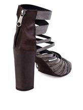 Туфли Brunello Cucinelli 281 100% кожа Темно-коричневый Италия изображение 3