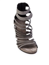 Туфли Brunello Cucinelli 281 100% кожа Темно-коричневый Италия изображение 4