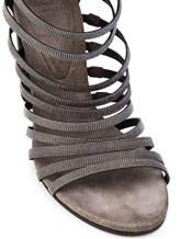 Туфли Brunello Cucinelli 281 100% кожа Темно-коричневый Италия изображение 5