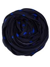 Палантин Faliero Sarti 1054 46% хлопок, 33% модал, 21% шёлк Синий Италия изображение 0