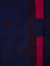 Палантин Faliero Sarti 1054 46% хлопок, 33% модал, 21% шёлк Темно-синий Италия изображение 1