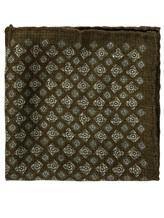 Платок Brunello Cucinelli 0091 100% шерсть Зеленый Италия изображение 0
