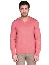 Джемпер V-вырез Brunello Cucinelli 72302 100%кашемир Розовый Италия изображение 1
