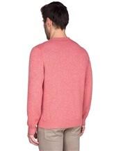 Джемпер V-вырез Brunello Cucinelli 72302 100%кашемир Розовый Италия изображение 3