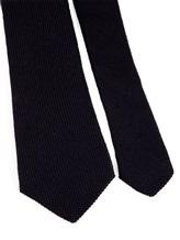 Галстук Brunello Cucinelli 0018 65% шерсть, 35% шёлк Темно-синий Италия изображение 2