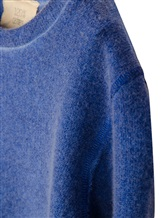 Джемпер 120% Lino G1B7501 71% кашемир, 25% модал, 4% шерсть Васильковый Италия изображение 2