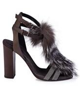 Туфли Brunello Cucinelli 330 100% кожа Темно-коричневый Италия изображение 1