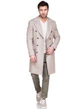 Пальто Brunello Cucinelli 9067M 96% шерсть, 4% кашемир Бежевый Италия изображение 0
