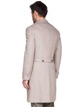 Пальто Brunello Cucinelli 9067M 96% шерсть, 4% кашемир Бежевый Италия изображение 3