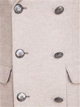 Пальто Brunello Cucinelli 9067M 96% шерсть, 4% кашемир Бежевый Италия изображение 4