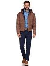 Куртка Brunello Cucinelli 1193 89% шерсть, 6% шёлк, 5% кашемир Светло-коричневый Италия изображение 1