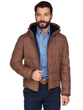 Куртка Brunello Cucinelli 1193 89% шерсть, 6% шёлк, 5% кашемир Светло-коричневый Италия изображение 0