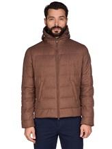 Куртка Brunello Cucinelli 1193 89% шерсть, 6% шёлк, 5% кашемир Светло-коричневый Италия изображение 2