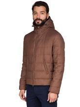 Куртка Brunello Cucinelli 1193 89% шерсть, 6% шёлк, 5% кашемир Светло-коричневый Италия изображение 3