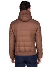 Куртка Brunello Cucinelli 1193 89% шерсть, 6% шёлк, 5% кашемир Светло-коричневый Италия изображение 4