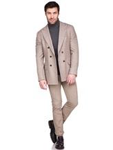 Пиджак Brunello Cucinelli 7BPD 80% шерсть, 17% шёлк, 3% кашемир Бежевый Италия изображение 0