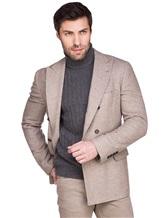 Пиджак Brunello Cucinelli 7BPD 80% шерсть, 17% шёлк, 3% кашемир Бежевый Италия изображение 1