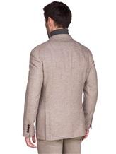 Пиджак Brunello Cucinelli 7BPD 80% шерсть, 17% шёлк, 3% кашемир Бежевый Италия изображение 4