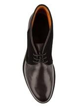Ботинки Santoni MCC014403 100% кожа Антрацит Италия изображение 4