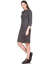 Платье Brunello Cucinelli 539A80P 80% кашемир, 20% шёлк Темно-серый Италия изображение 0