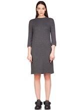 Платье Brunello Cucinelli 539A80P 80% кашемир, 20% шёлк Темно-серый Италия изображение 1