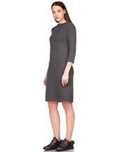 Платье Brunello Cucinelli 539A80P 80% кашемир, 20% шёлк Темно-серый Италия изображение 2